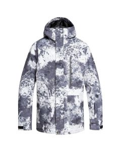 Quiksilver Mission Print Ski Jacket - Castle Rock Splash
