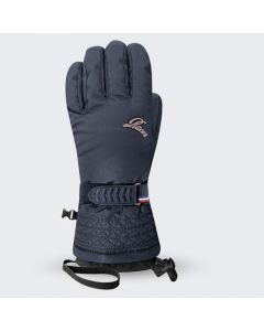 Racer GELY3 womens ski gloves, navy