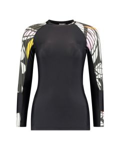O'Neill Suru Womens Long Sleeve Skins - Black Out