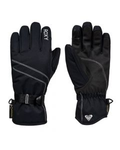 Roxy Gore-Tex Womens Ski Gloves, Black
