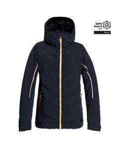 Roxy Premier womens heated ski jacket, front