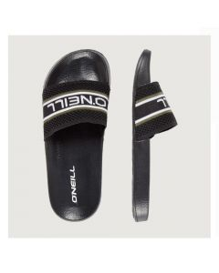 Mens sliders, mens black flip flops