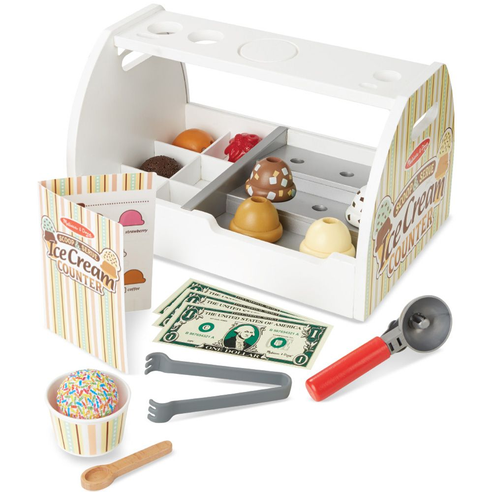 Gifts 5 year old girls - Pretend Play Ice Cream Counter