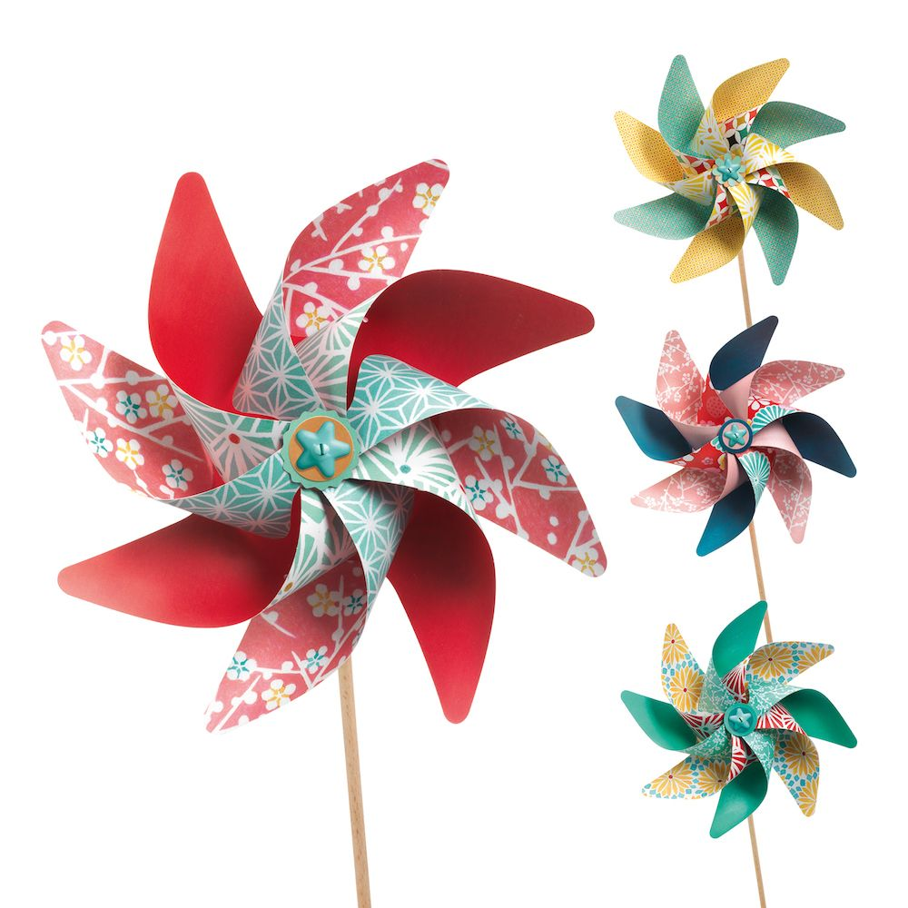 Gifts 5 year old girls - DIY Windmills